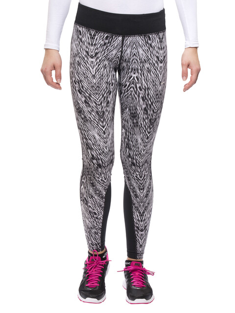Nike Epic - Pantalones largos running Mujer - blanco/negro